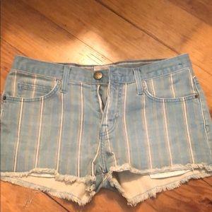 Current Elliot Jean shorts
